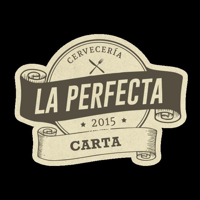La Perfecta Bueu · Logo vintage lacarta 2